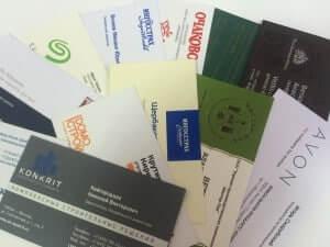 Красивые визитные карточки