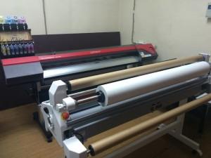 Ламинирование больших размеров наш новый ламинатор