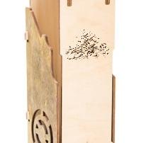 деревянная коробка для водки