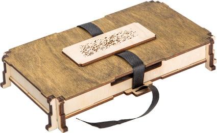 чехол из дерева для книги