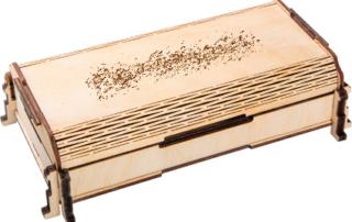 длинная декоративная коробка