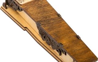 деревянная упаковка для ручки