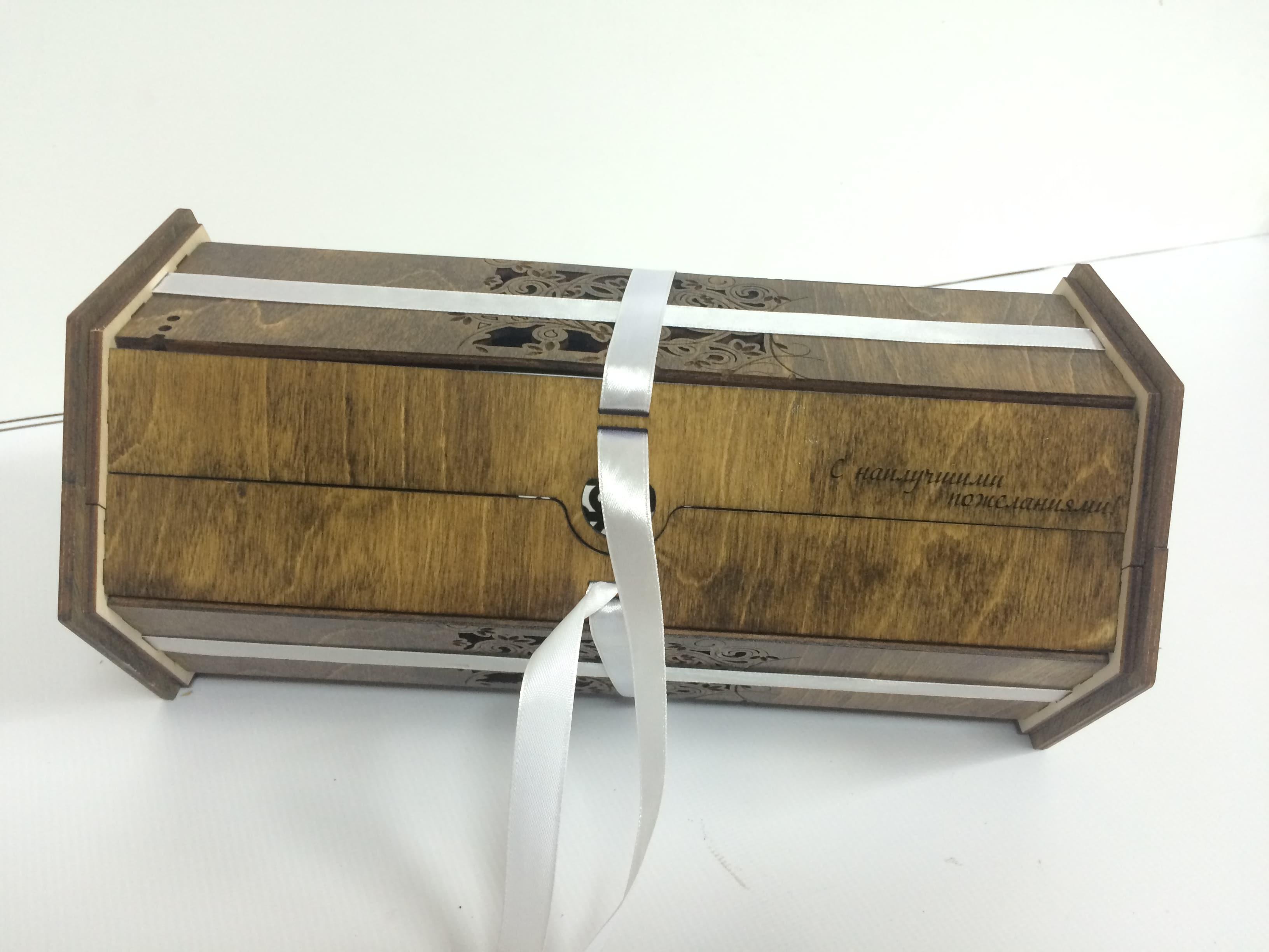Красивая деревянная упаковка