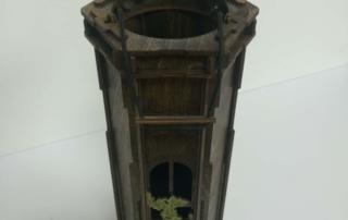 Декоративная упаковка из дерева для вина